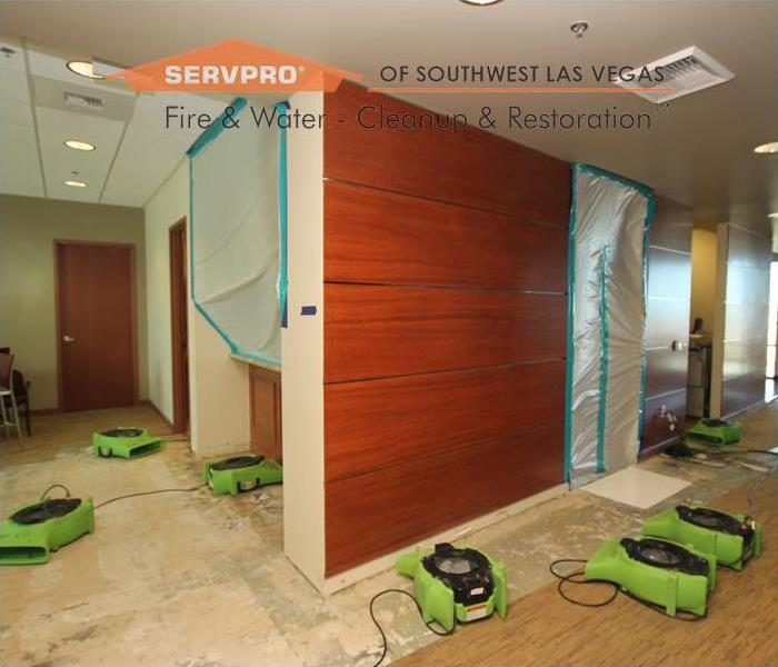 Commercial Mold Remediation, Las Vegas NV After