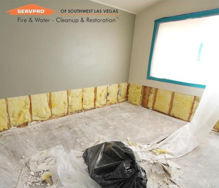 Storm Damage Water Damage mitigation, Las Vegas