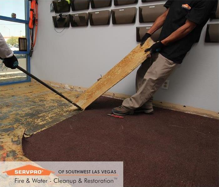 Commercial Commercial water Loss, Las Vegas